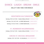 DANCE - LAUGH - DREAM - SMILE